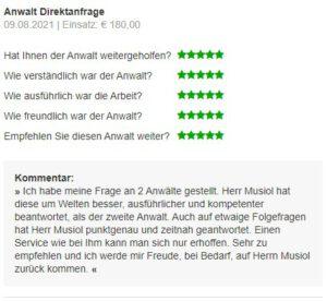 Bewertung 123recht.de